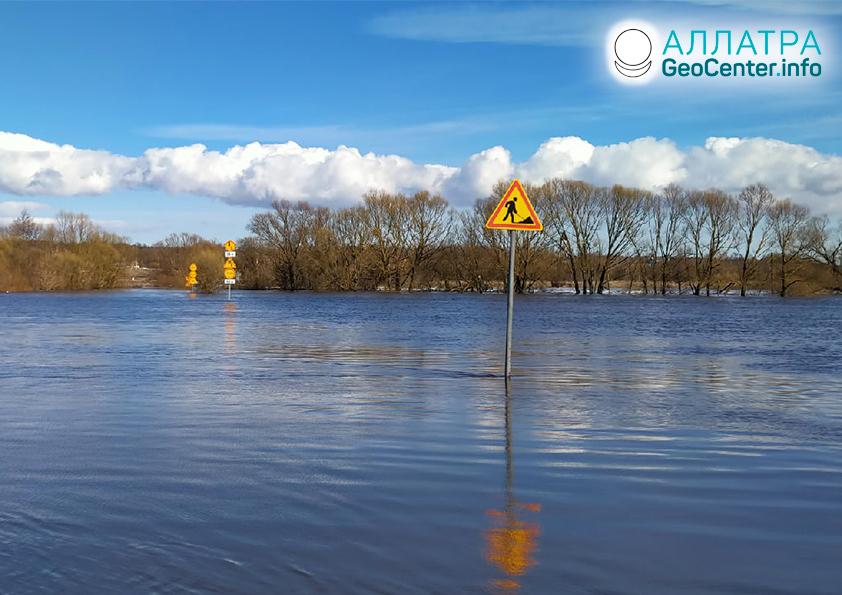 Наводнение на планете в первую декаду апреля 2021
