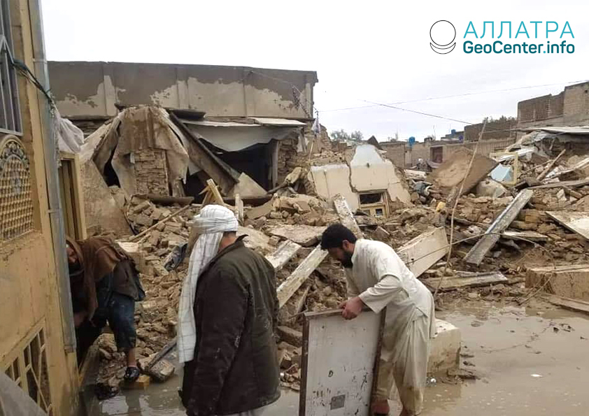 Наводнение в Афганистане, март 2019