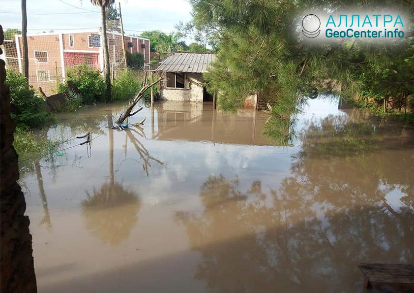 Наводнение в Аргентине, Уругвае и Бразилии, январь 2019