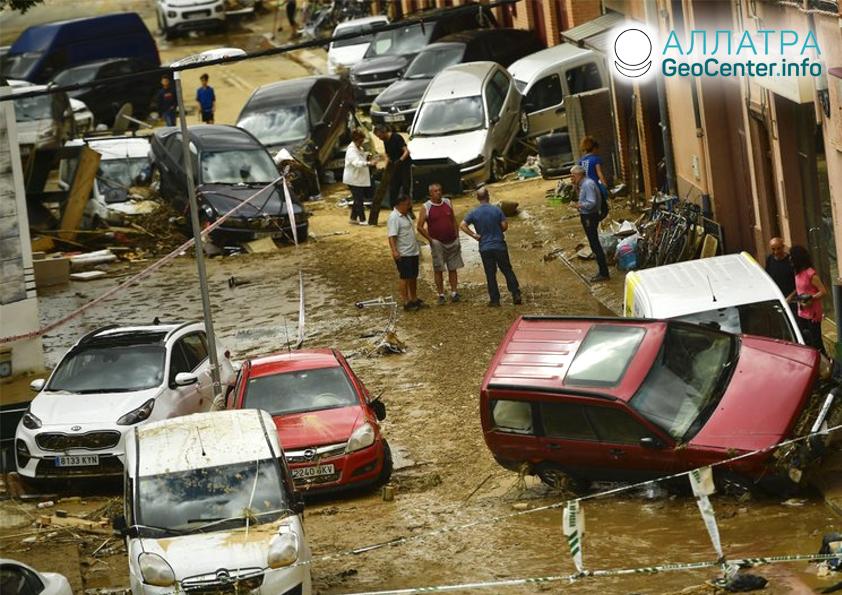 Наводнение в Испании, июль 2019