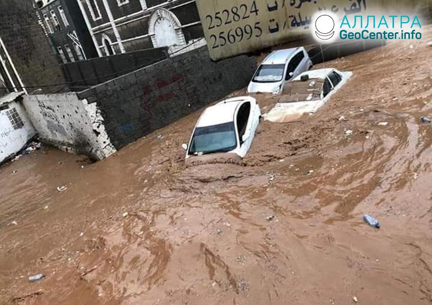 Záplavy v Jemene, marec 2020