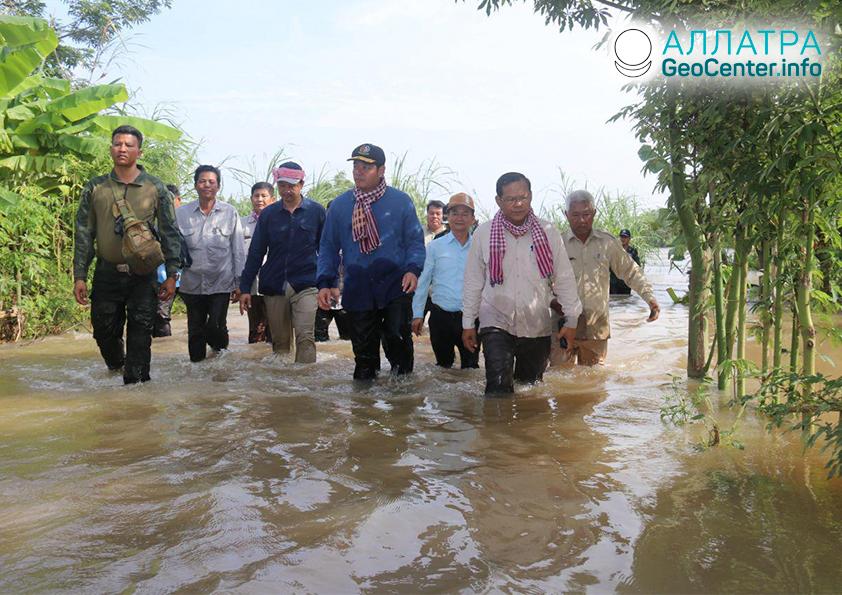 Наводнение в Камбодже, сентябрь 2019