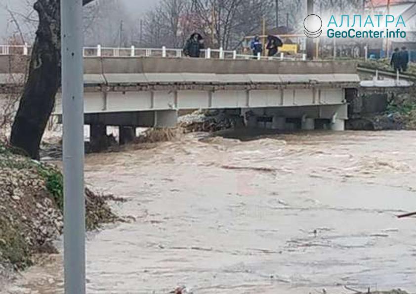 Наводнение в Краснодарском крае, январь 2019