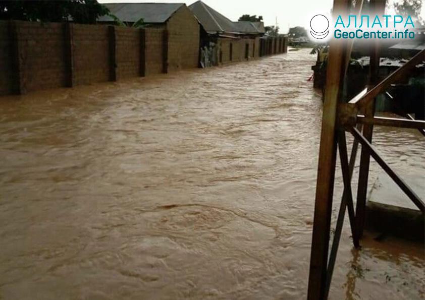 Záplavy v Nigérii, august 2019