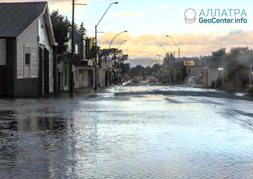 Наводнение в Новой Зеландии, декабрь 2018