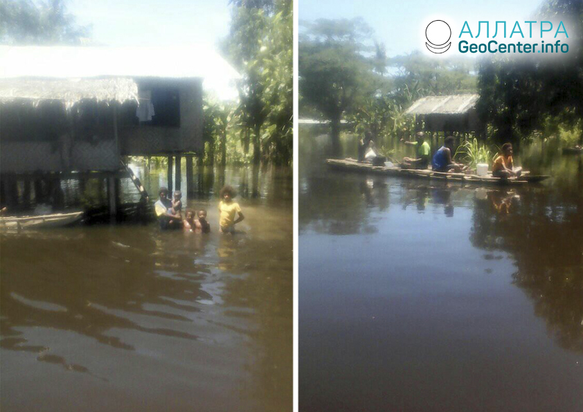 Наводнение в Папуа-Новой Гвинее, апрель 2020