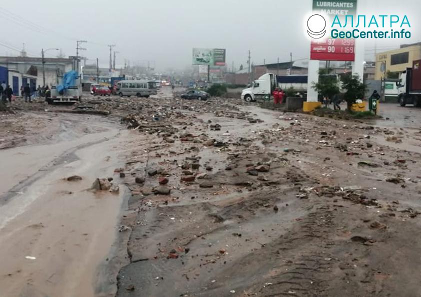 Záplavy v Peru, marec 2020
