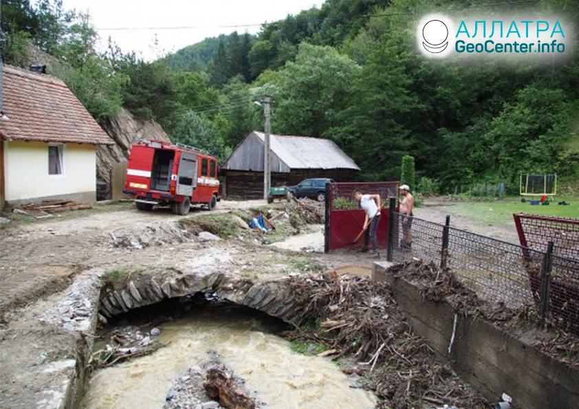Záplavy v Rumunsku, júl 2019