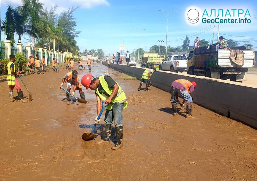 Záplavy na Východnom Timore, marec 2020