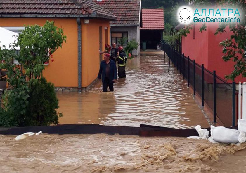 Наводнения и оползни на планете, конец июня 2020