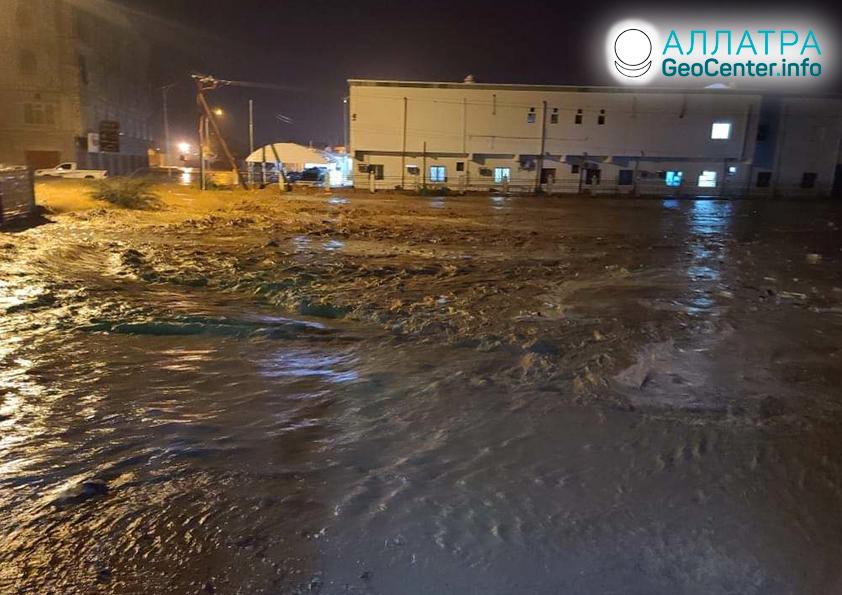 Záplavy a zosuvy vo svete, začiatok mája 2021