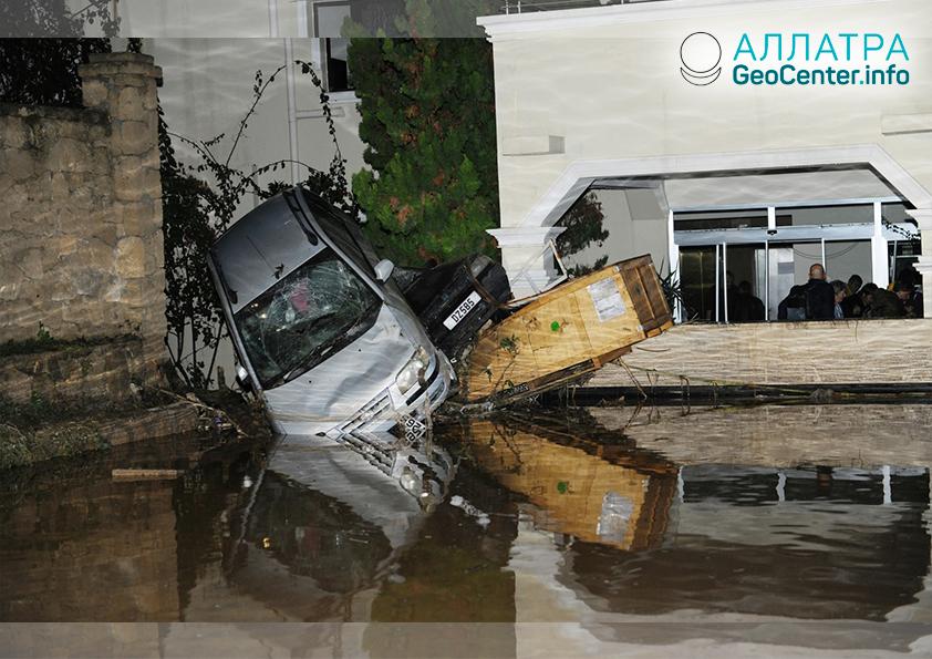 Наводнения на Кипре, декабрь 2018