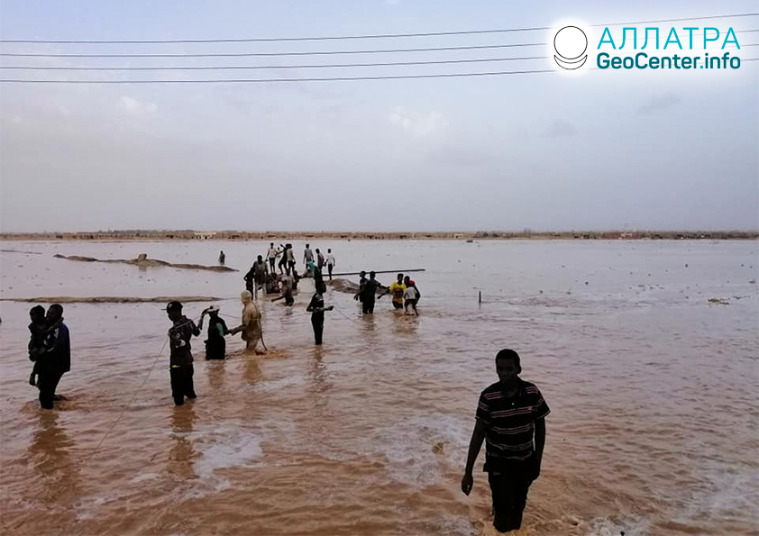 Záplavy v Libyi, červen 2019