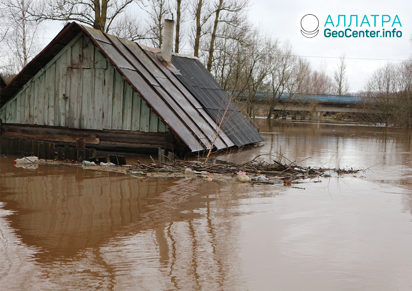 Záplavy v Rusku, november 2019