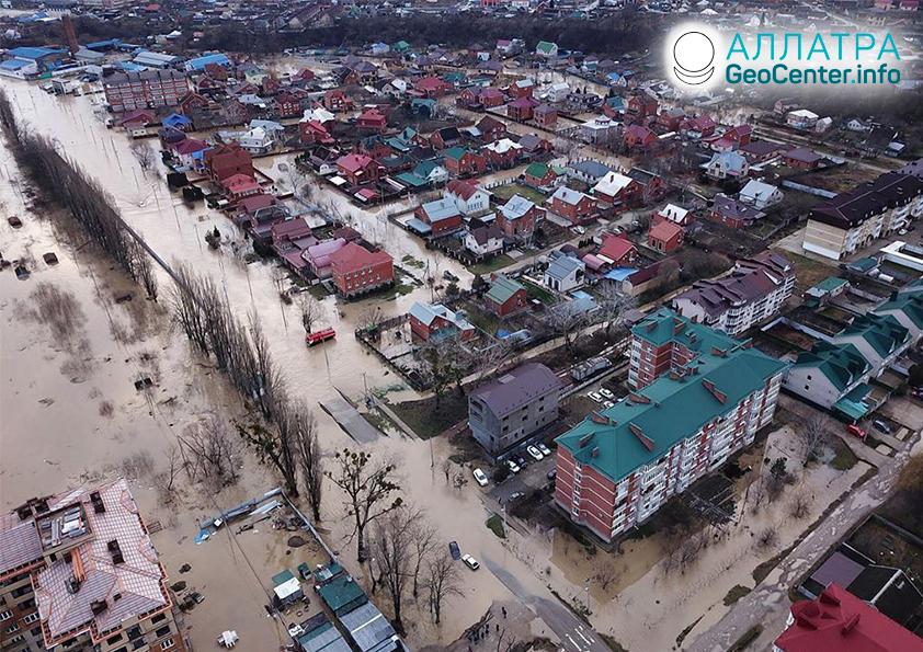 Наводнения в странах мира, февраль 2020
