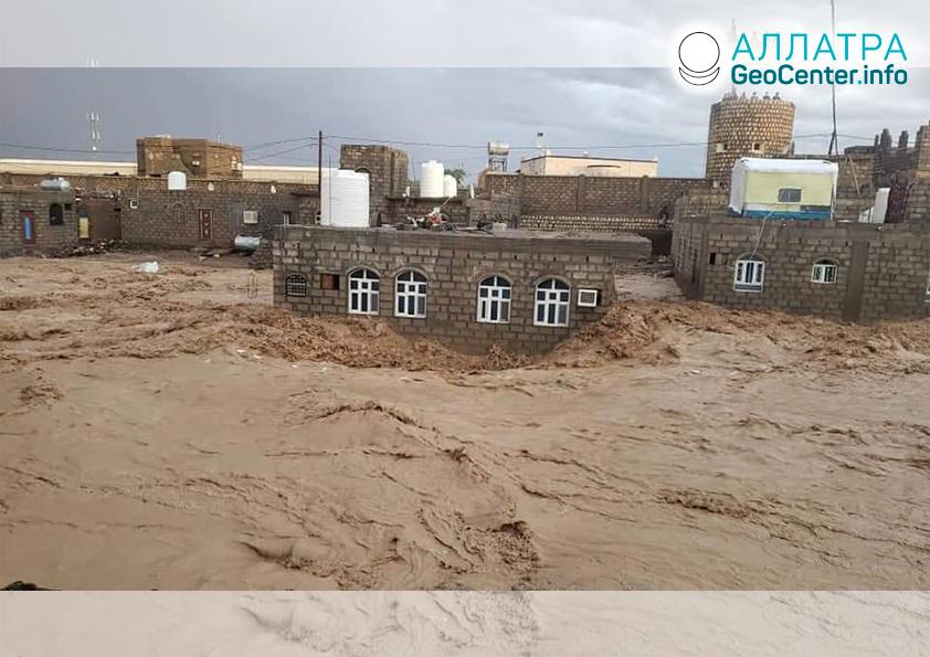 Záplavy v krajinách sveta: Jemen, Irán, Konžská demokratická republika, Pakistan, Afganistan, Indonézia, apríl 2020