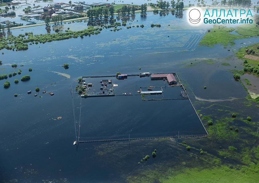 Наводнения в странах мира, конец июня 2021
