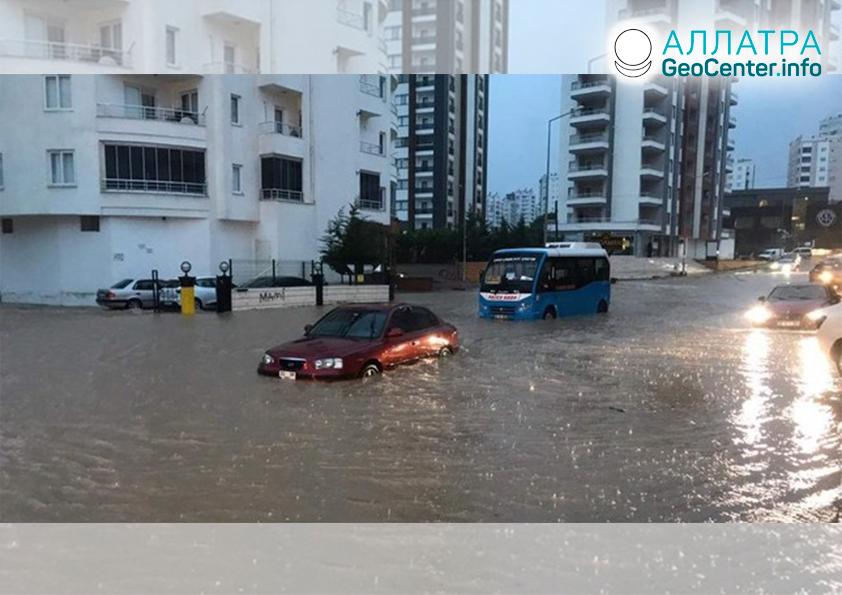 Наводнения в Турции, январь 2020