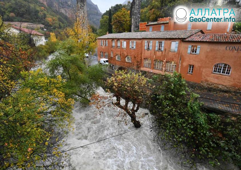 Наводнения во Франции, ноябрь 2019