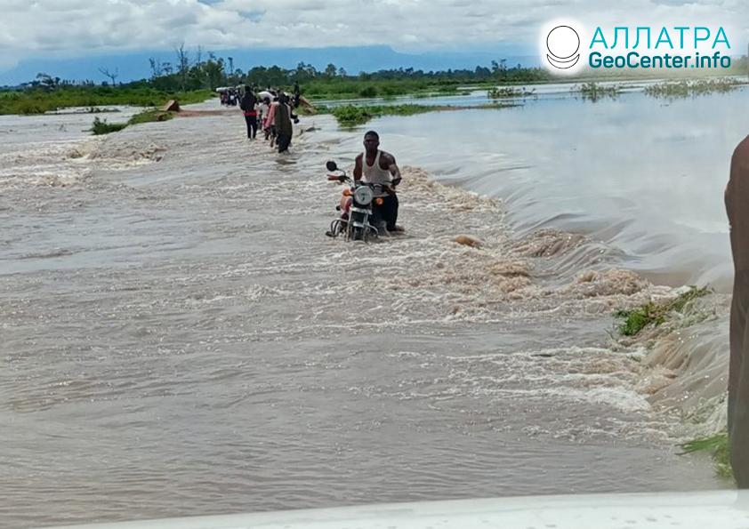 Záplavy, druhá dekáda mája 2021