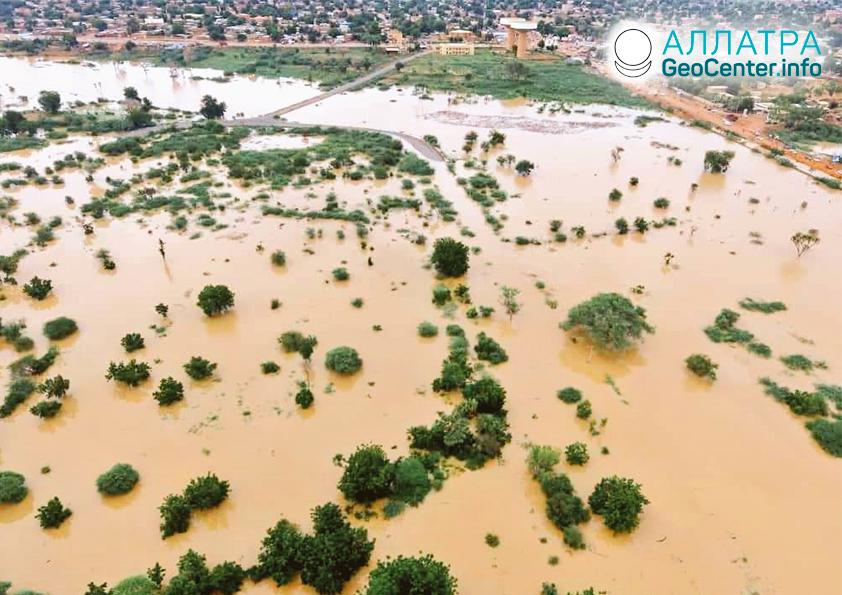 Záplavy na planéte, koniec augusta 2020