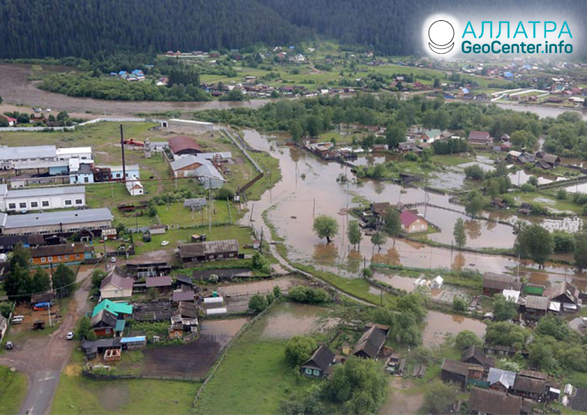 Наводнения в мире, вторая декада июня 2020