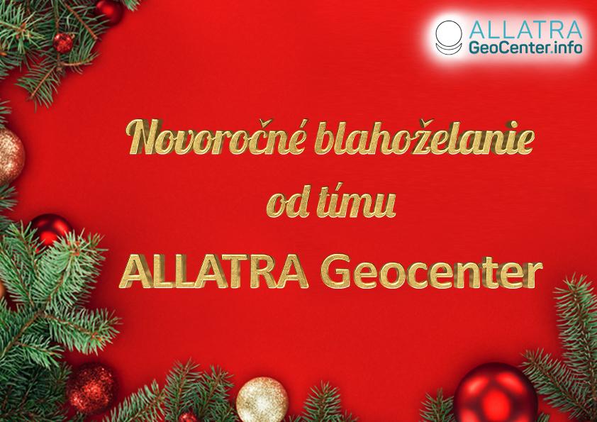 Novoročné blahoželanie od tímu ALLATRA GEOCENTER 2021