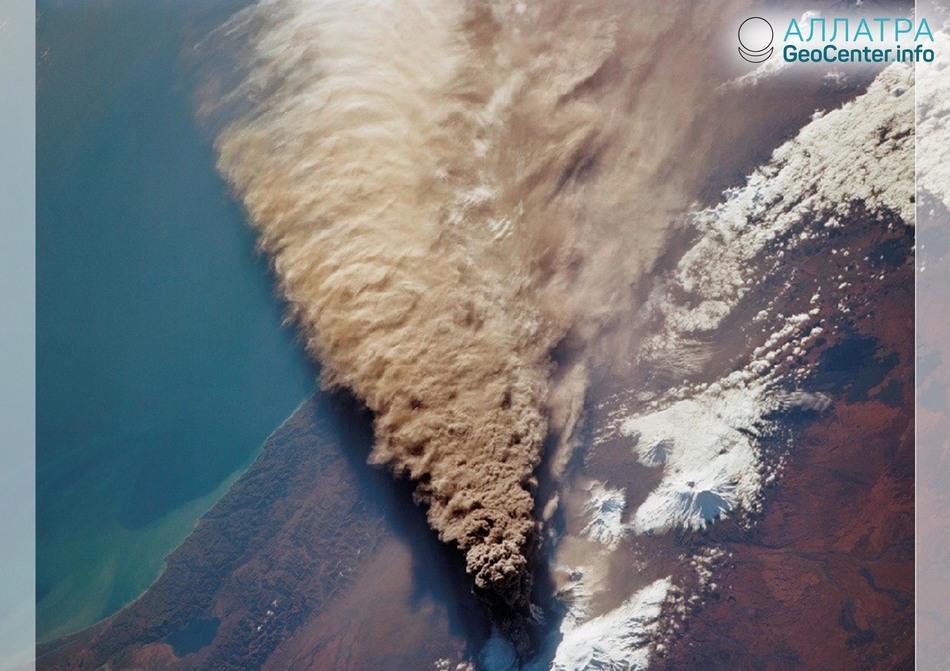 Новости о вулканах Шивелуч и Невадо-дель-Уила, 29-31 января 2019