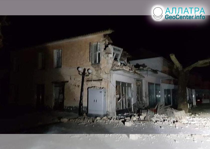 Новые сильные землетрясения в мире: Монголия, Китай, Греция март 2020