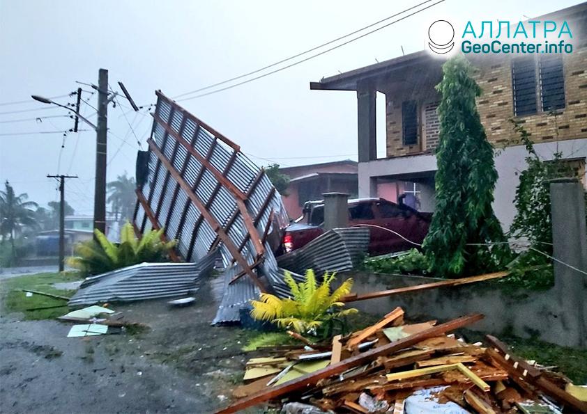"Následky tropického cyklónu ""Harold"", apríl 2020"
