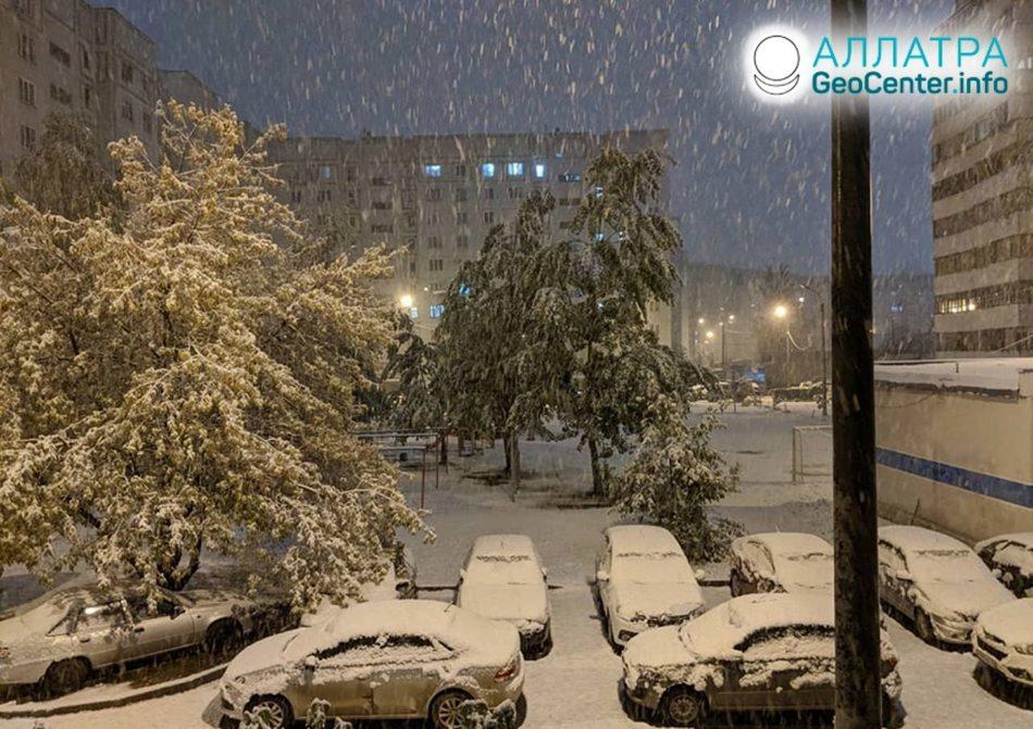 Skorá zima v centrálnom Rusku? September 2019