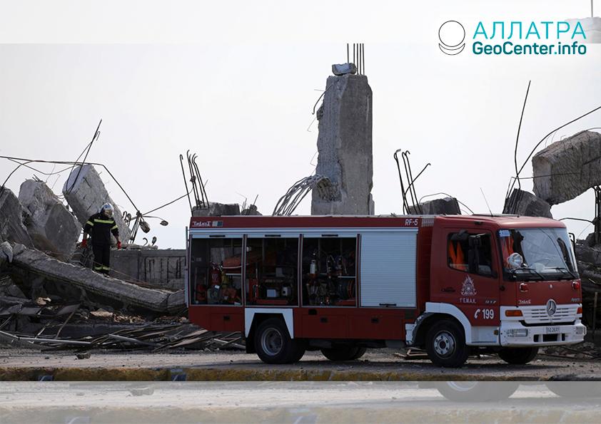 Разрушительные землетрясения в Греции, июль 2019