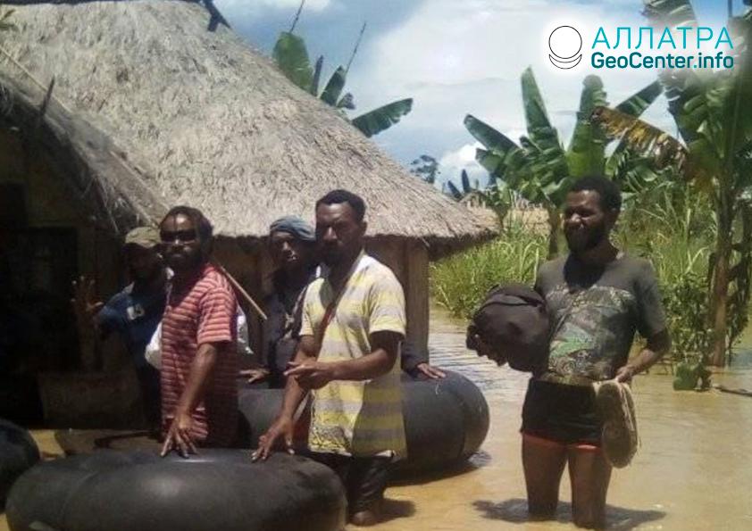 Разрушительные наводнения в Папуа-Новой Гвинее, март 2020