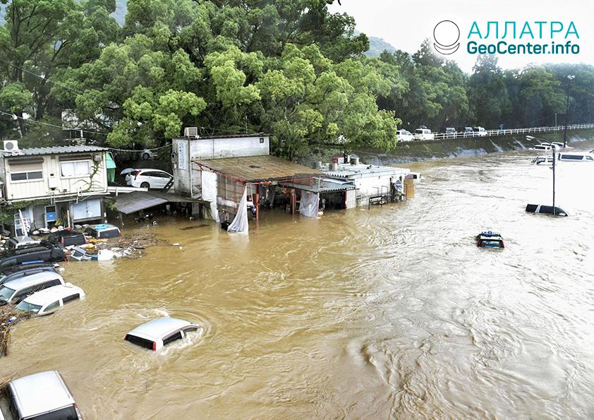 Разрушительный тайфун «Митаг», сентябрь-октябрь 2019