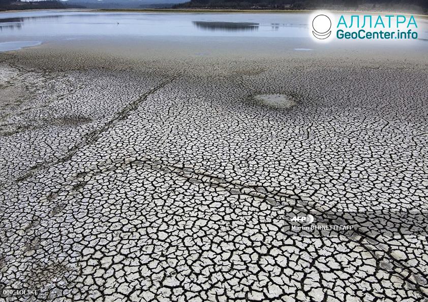 Рекордная засуха в Чили, апрель 2020