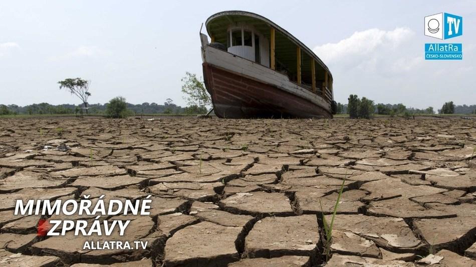 Rekordní sucho za posledních 1000 let v Chile. Aktivace Ohnivého kruhu? Záplavy → Afrika