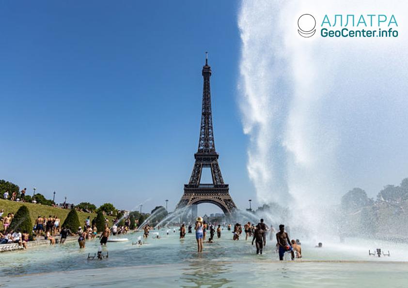 Rekordná horúčava vo Francúzsku v júni 2019
