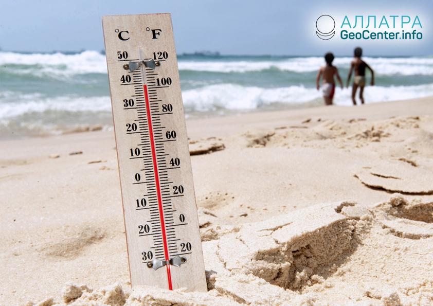Рекорды тепла в Австралии, апрель 2019
