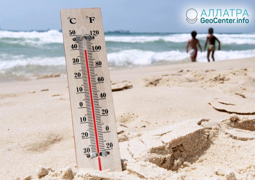 Rekordní tepla v Austrálii, duben 2019
