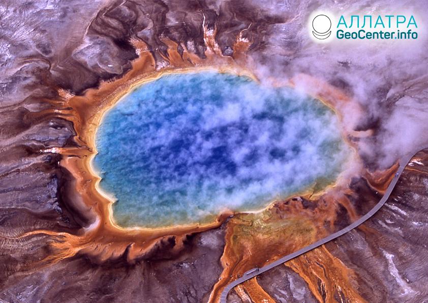 Seismická aktivita v oblasti supervulkánu Yellowstone, léto 2019