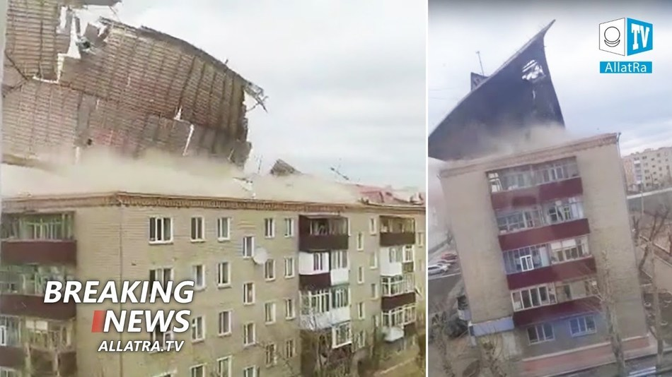Storm Apocalypse → Kazakhstan, Greece, Russia. Snowstorms → Central Asia | Hurricanes and fires