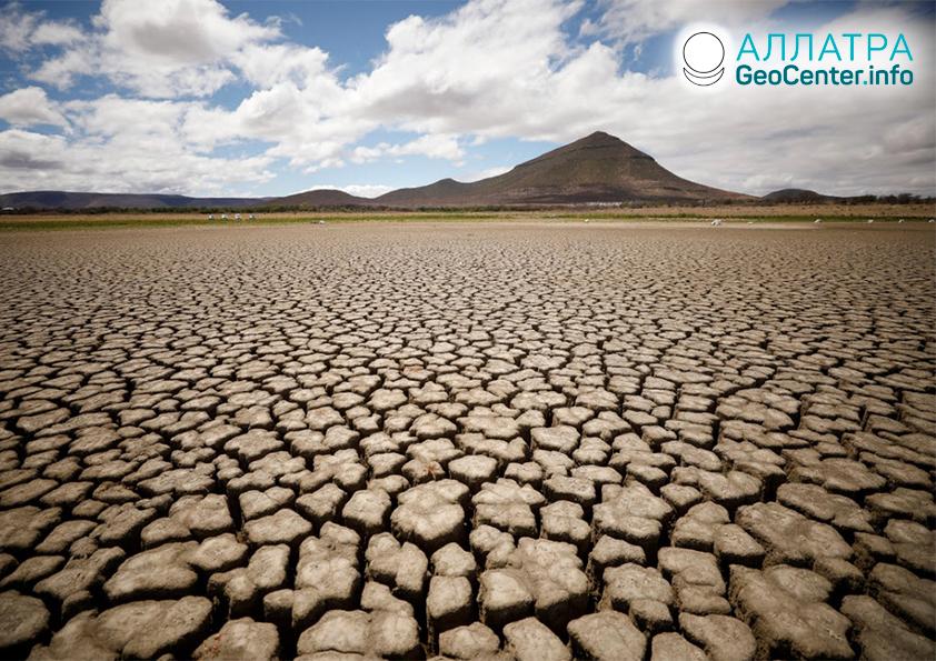Najsilnejšie sucho v Afrike, december 2019