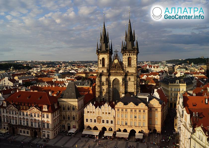 Сильнейшая засуха в Чехии, апрель 2020