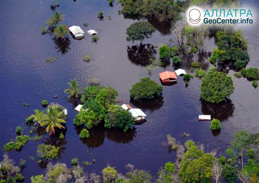 Сильные наводнения в мире, середина июня 2021