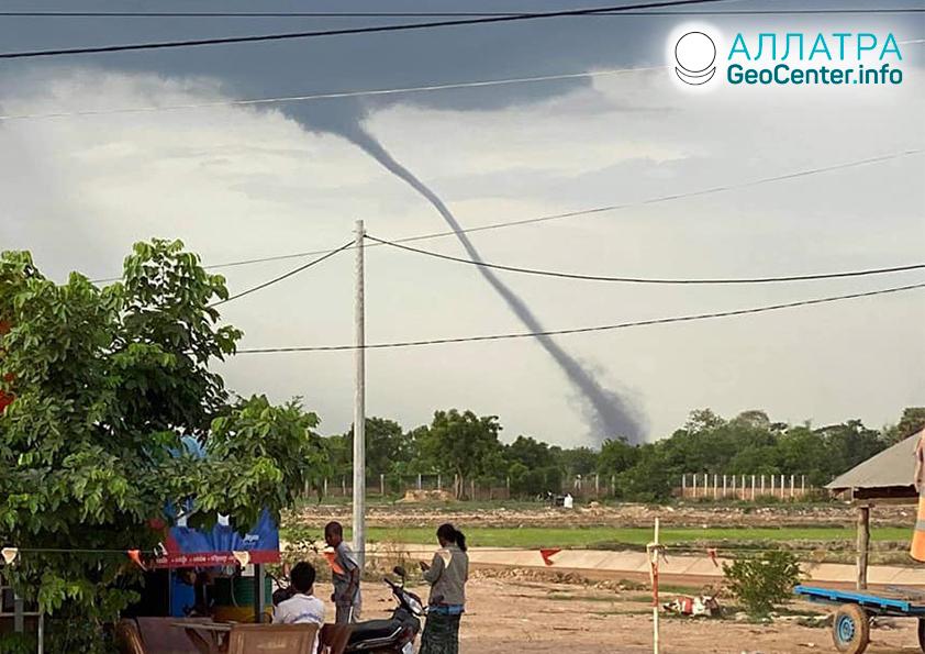 Смерчи и торнадо, середина мая 2021