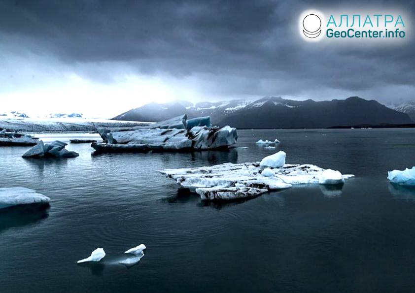 Таяние ледников Гренландии, август 2019