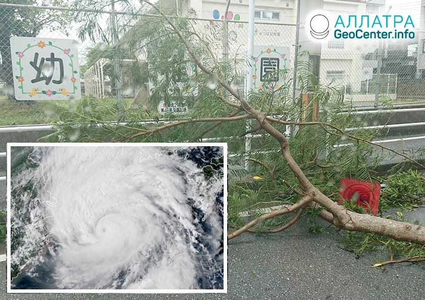 """Тайфун """"Линлин"""" в Японии и Китае, сентябрь 2019"""