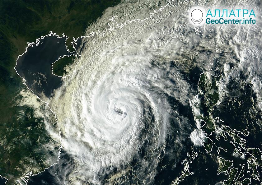 Тайфун «Вамко», ноябрь 2020