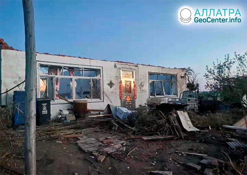 Торнадо и ураганы в странах мира в начале июня 2021