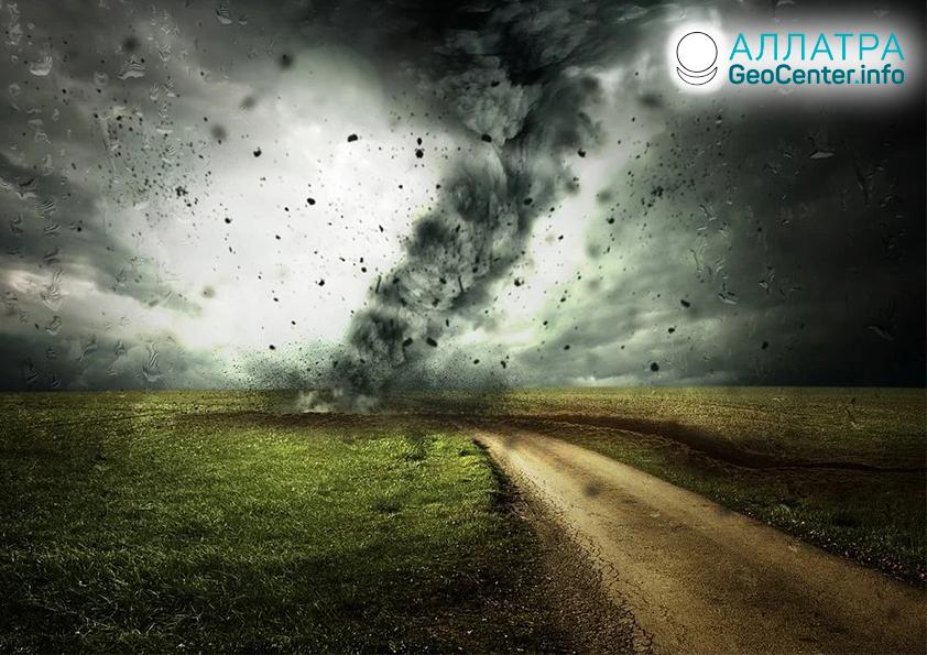 Торнадо в мире, середина декабря 2020